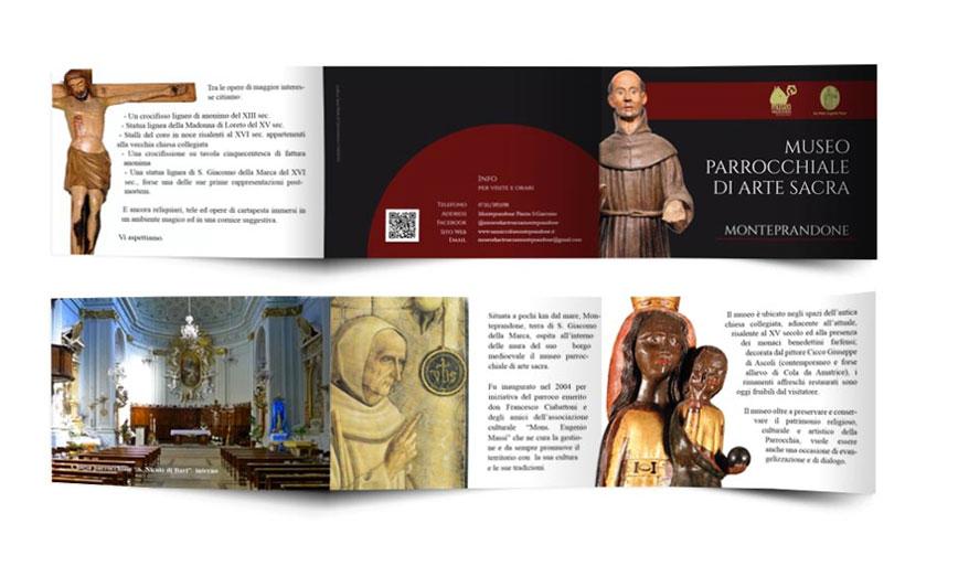 Realizzazione Grafica Museo Diocesano - Monteprandone