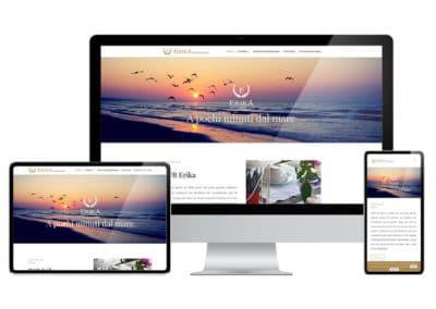 Creazione sito web BeB Erika - San Benedetto del Tronto