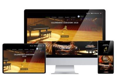 Creazione sito web Concorso Internazionale Palma d'Oro - San Benedetto del Tronto