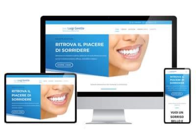 Creazione sito web Dottor Gentile - San Benedetto del Tronto
