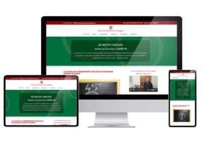 Sito Web Scuola di Formazione Teologica