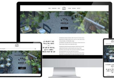 Sito web Agriturismo A Casa Da Angelo